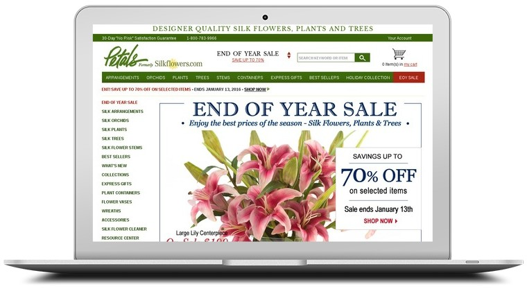 Silk Flowers Coupons