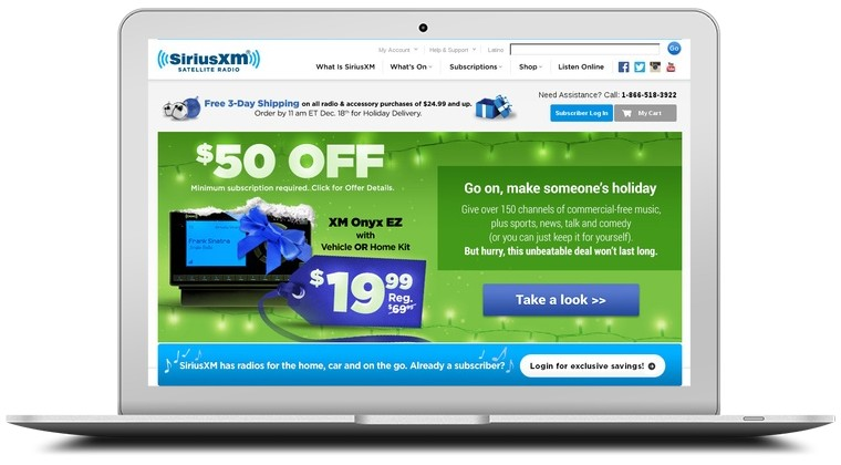 Sirius Satellite Radio Coupons