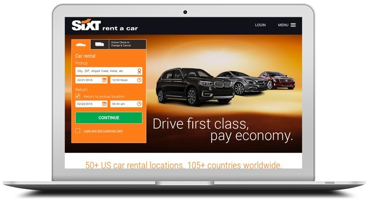 Sixt Car Rental Coupons