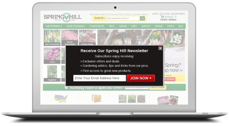 Spring Hill Nursery Coupons