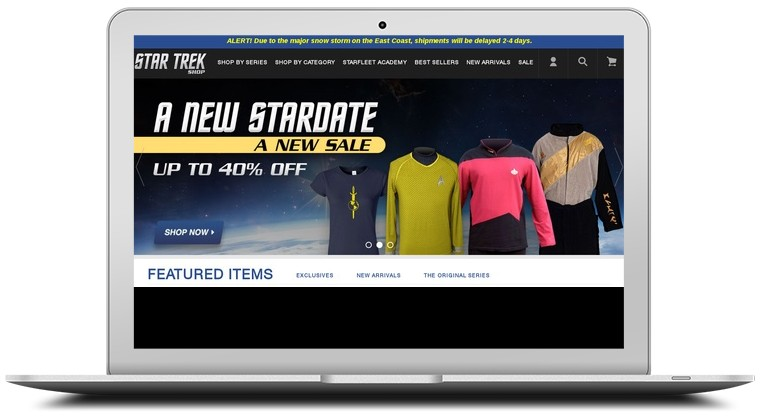 Star Trek Store Coupons