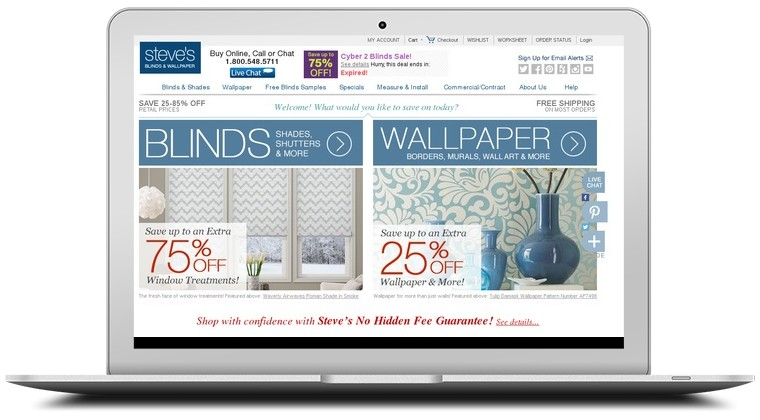 Steves Blinds And Wallpaper Coupons Coupon Codes