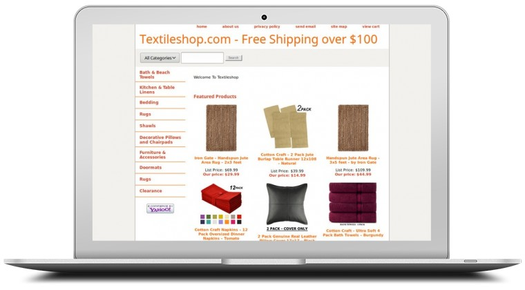 Textile Shop Coupons