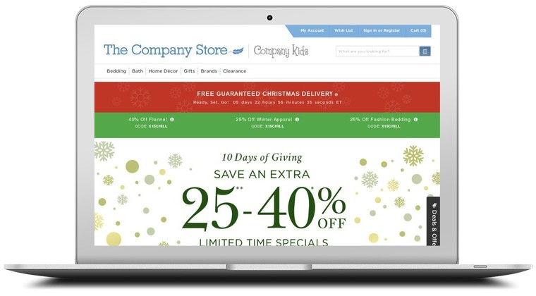 Company store coupon code
