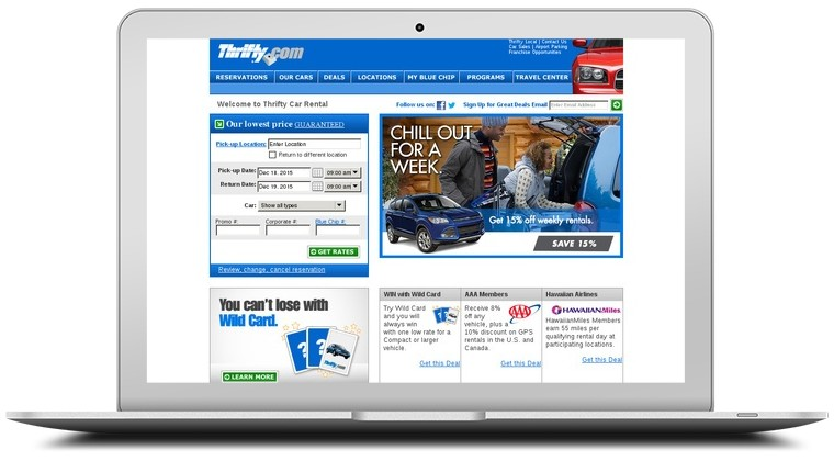 Thrifty Car Rentals Coupons