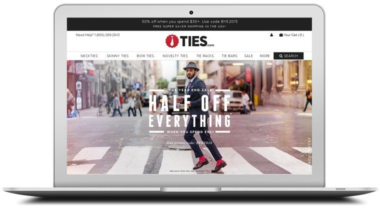 Ties.com Coupons
