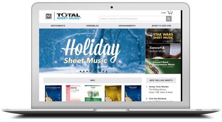 Total Sheet Music Coupons