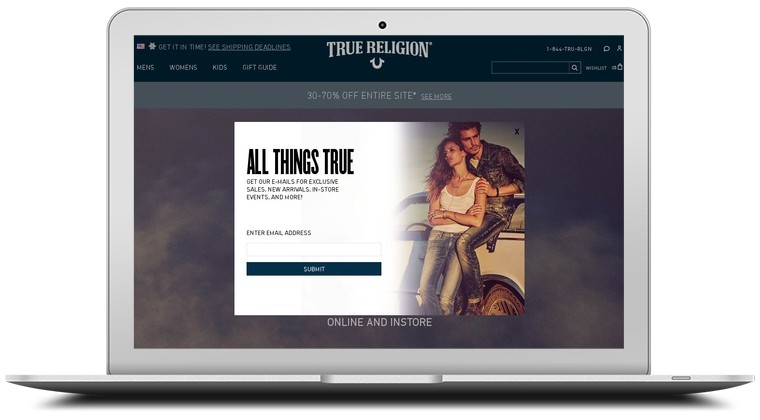 True Religion Jeans Coupons
