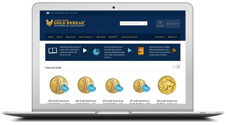 U.S. Gold Bureau Coupons