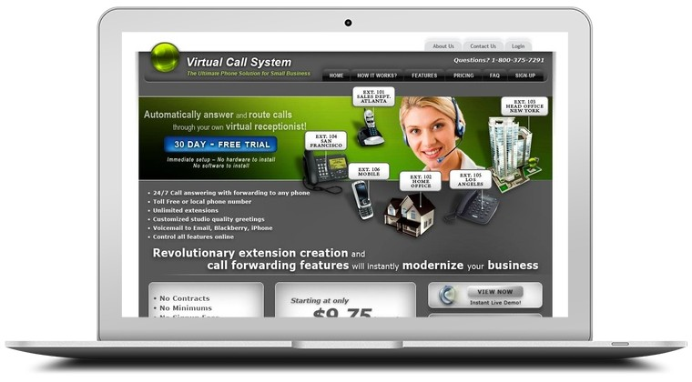 Virtual Call System Coupons