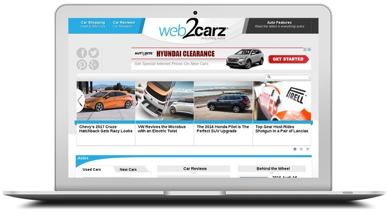 Web 2 Carz Coupons