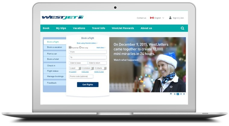 WestJet Coupons