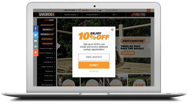 Worx Yard Tools Coupons